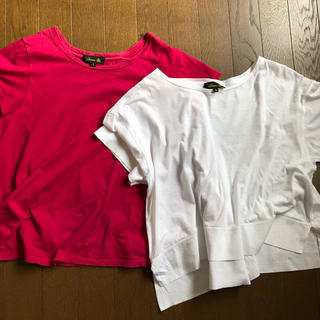 ドゥロワー(Drawer)のドゥロワー Tシャツ2枚セット(Tシャツ(半袖/袖なし))