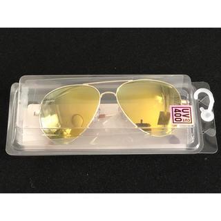 ユニクロ(UNIQLO)の【 未使用 】UNIQLO  ユニクロ UV 400  メタルフレームサングラス(サングラス/メガネ)