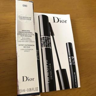 ディオール(Dior)のディオール♡マスカラディオールショウデザイナー 090プロブラック マスカラ(マスカラ)