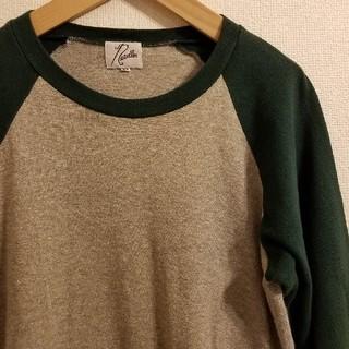ニードルス(Needles)の日本製 Needles ニードルス ラメ混 ラグラン袖 七分カットソー(Tシャツ/カットソー(七分/長袖))