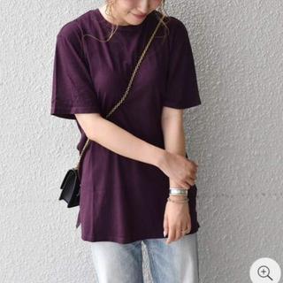 シップスフォーウィメン(SHIPS for women)の専用 Project Social:ルーズTEE【バイオレット】未使用(Tシャツ(半袖/袖なし))