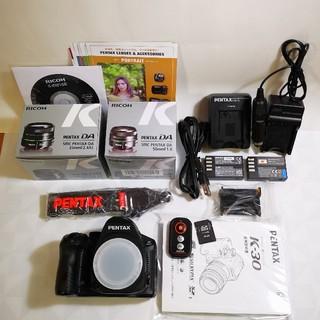 PENTAX - PENTAX K30 単焦点レンズ2本