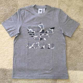 アディダス(adidas)の☆新品☆ アディダス Tシャツ グレー迷彩 XSサイズ♪(Tシャツ/カットソー(半袖/袖なし))