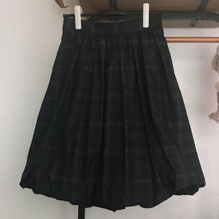 トゥービーシック(TO BE CHIC)のTOBECHICバルーンスカート(ひざ丈スカート)