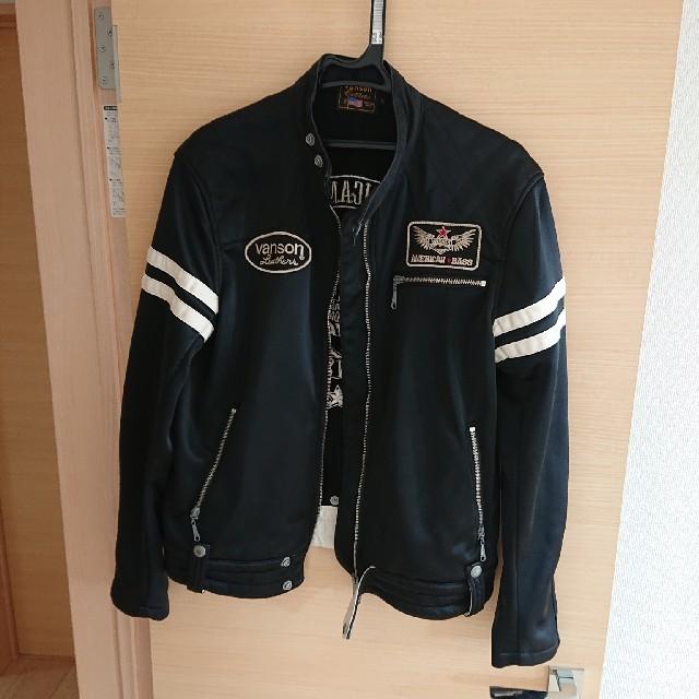 VANSON(バンソン)のバンソン ライダースジャケット scalhart様専用 メンズのジャケット/アウター(ライダースジャケット)の商品写真