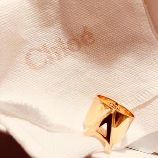 クロエ(Chloe)の即購入可能☆Chloe クロエ イニシャルリング 「A」アルファベット(リング(指輪))