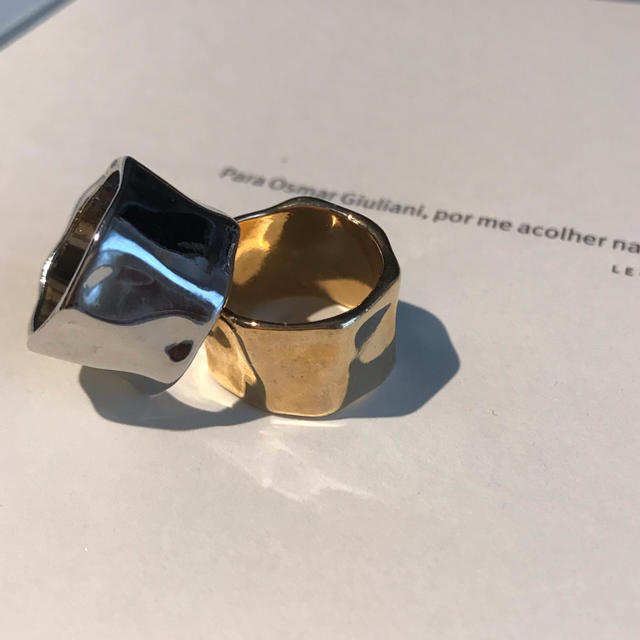 TODAYFUL(トゥデイフル)の大人気大ぶり打ちっ放しリング★ レディースのアクセサリー(リング(指輪))の商品写真