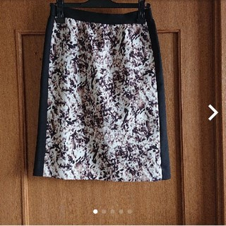 イネド(INED)のINED 膝丈タイトスカート(ひざ丈スカート)