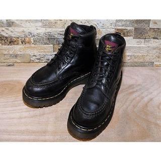 ドクターマーチン(Dr.Martens)の日本未発売 ENGLAND製 ドクターマーチン 6ホールブーツ 黒 23cm(ブーツ)