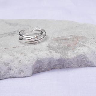 アメリヴィンテージ(Ameri VINTAGE)のトリプルサークルリング / SILVER925(リング(指輪))