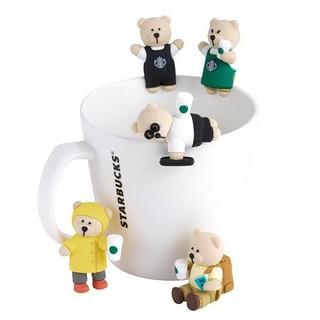 スターバックスコーヒー(Starbucks Coffee)の☆海外スターバックス限定☆ベアリスタ 5匹セット品(ぬいぐるみ)