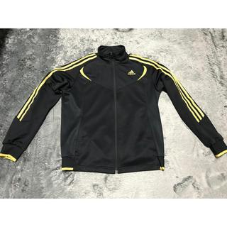 アディダス(adidas)のadienergy13 アディエナジー13 上下 Lサイズ ブラック/ゴールド(ジャージ)