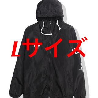 アディダス(adidas)のyeezus tour 3 windbreaker jacket black(ナイロンジャケット)