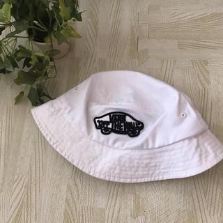 ヴァンズ(VANS)のバンズ  バケットハット 帽子 白 ホワイト レディース メンズ バケハ(ハット)