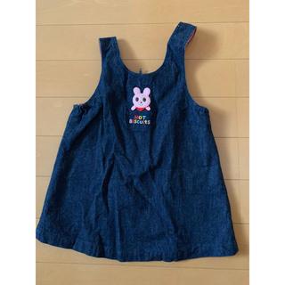 ミキハウス(mikihouse)のミキハウス ジャンパースカート 80cm(ワンピース)