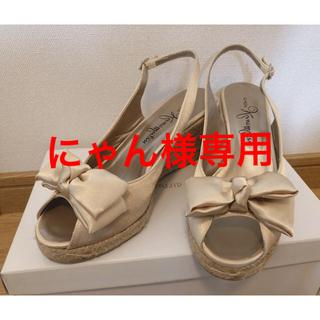ギンザカネマツ(GINZA Kanematsu)の銀座かねまつ 22.5 サンダル(サンダル)