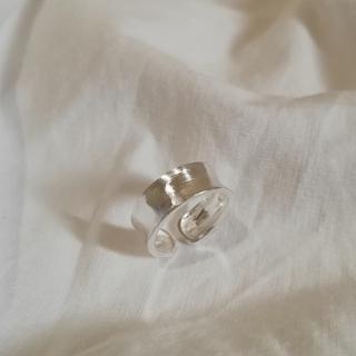 アメリヴィンテージ(Ameri VINTAGE)の【再入荷】silver 925 mat ring *(リング(指輪))