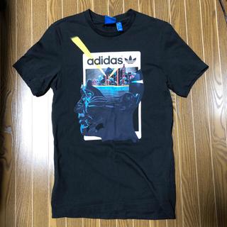 アディダス(adidas)のadidas originals Tシャツ 2 XS トレフォイル 黒 赤 半袖(Tシャツ/カットソー(半袖/袖なし))