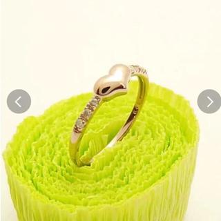 新品k10ピンクゴールドダイヤ リング(リング(指輪))