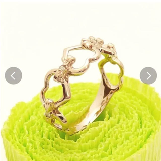 セール価格!新品k10ピンクゴールドダイヤ リング(リング(指輪))