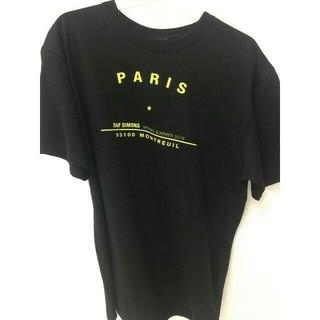 RAF SIMONS - RAF 19SS SIMONS ブラック メンズ Tシャツ