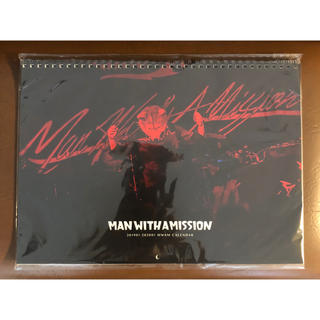 マンウィズアミッション(MAN WITH A MISSION)のMAN WITH A MISSION 2018年・2019年カレンダーセット(ミュージシャン)