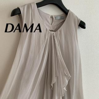 ディノス(dinos)のDAMA ノースリーブ トップス(カットソー(半袖/袖なし))