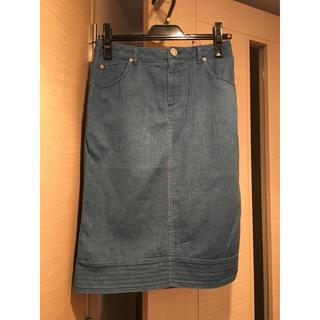 ビッキー(VICKY)の新品!VICKY ビッキー デニムライクタイトスカート 9号(ひざ丈スカート)