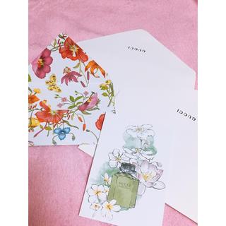 グッチ(Gucci)のGUCCI 封筒 カード フローラ(カード/レター/ラッピング)