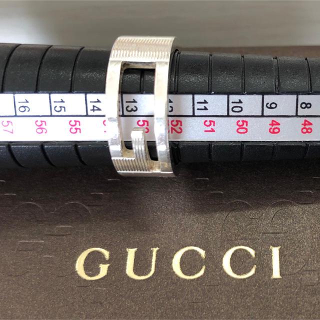 Gucci(グッチ)のGUCCI/カットアウトG リング メンズのアクセサリー(リング(指輪))の商品写真