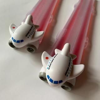 ジャル(ニホンコウクウ)(JAL(日本航空))のJAL 飛行機 箸セット(弁当用品)