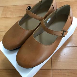 ムジルシリョウヒン(MUJI (無印良品))の*ストラップシューズ 無印良品 本革*(ローファー/革靴)