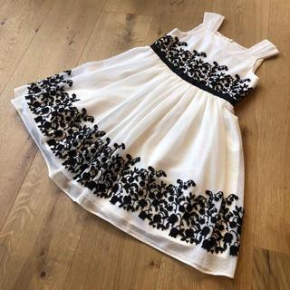 TOCCA - 新品 トッカ ワンピース 110 白 ドレス 可愛い