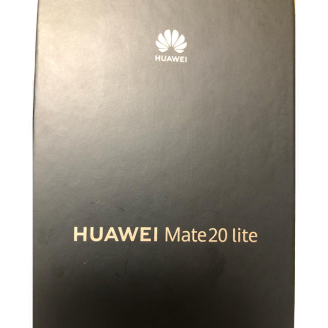 ANDROID(アンドロイド)のHUAWEI Mate 20 lite  ブラック スマホ/家電/カメラのスマートフォン/携帯電話(スマートフォン本体)の商品写真