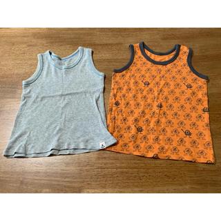 ユニクロ(UNIQLO)のノースリーブ 2枚セット(Tシャツ/カットソー)