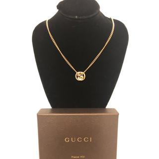 Gucci - GUCCI ネックレス チャーム 喜平ネックレス