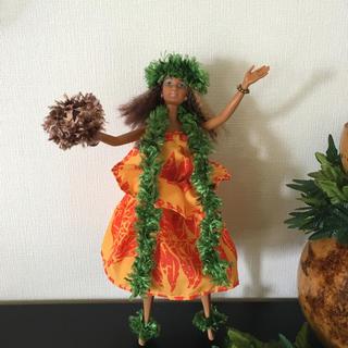 バービー(Barbie)のバービー人形 フラダンス衣装 カヒコウリウリ【No.143】(人形)