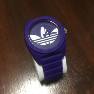 adidas 腕時計 ムラサキ