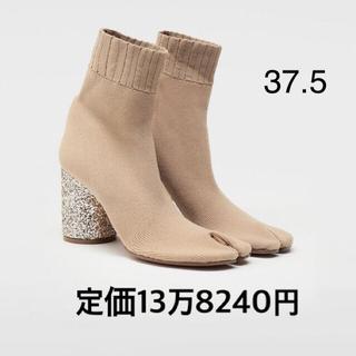 マルタンマルジェラ(Maison Martin Margiela)のmaison margiela ニット足袋ブーツ  37.5 新品(ブーツ)