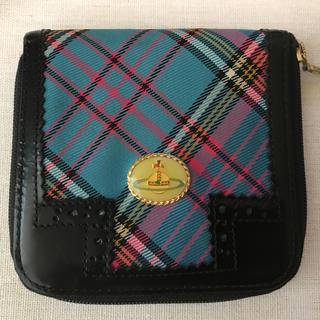 ヴィヴィアンウエストウッド(Vivienne Westwood)のVivienneWestwood ブルーマック折財布(財布)