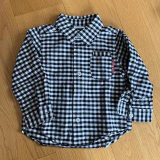 ブリーズ(BREEZE)のギンガムチェックシャツ(ジャケット/上着)
