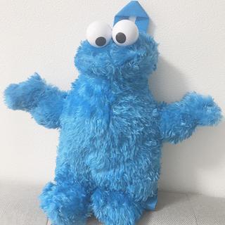 セサミストリート(SESAME STREET)のクッキーモンスター リュックサック ぬいぐるみ (リュックサック)