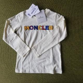 モンクレール(MONCLER)の【新品】MONCLERモンクレール パッチワークロゴ カットソー 6A(Tシャツ/カットソー)