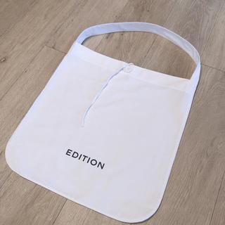 エディション(Edition)のEdition ショッパー エコバッグ(ショップ袋)