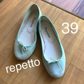 repetto - 【使用2回】レペット  バレエシューズ 39