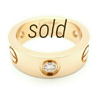 【MAMA様 ご専用】ビスリング ラブリング ホワイトゴールドカラー14号(リング(指輪))