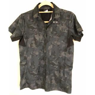 新品 オークリー ポロシャツ トップス 迷彩 カムフラージュ 半袖