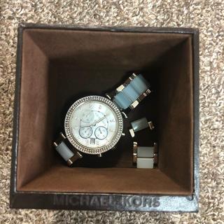 Michael Kors - マイケルコース 腕時計 水色
