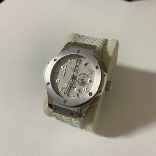 ウブロ(HUBLOT)のHUBLOT ウブロ ビッグバン白 即発送(腕時計(アナログ))