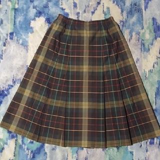 バーバリー(BURBERRY)のヴィンテージ BURBERRY スカート ビンテージ バーバリー スカート(ひざ丈スカート)